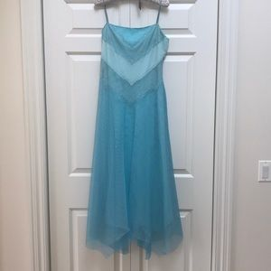 BCBG Max Azria Aqua Blue Dress